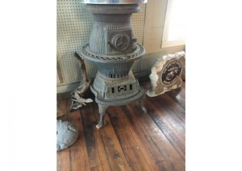Antique Potbelly Stove